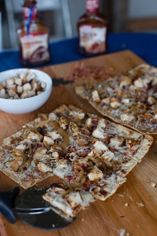 Grilled Barbecue Chicken, Bacon, Caramelized Onion Pizza