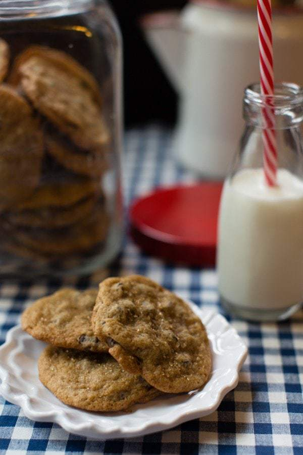 Soft and Chewy Brown Sugar Chocolate Chip Cookies