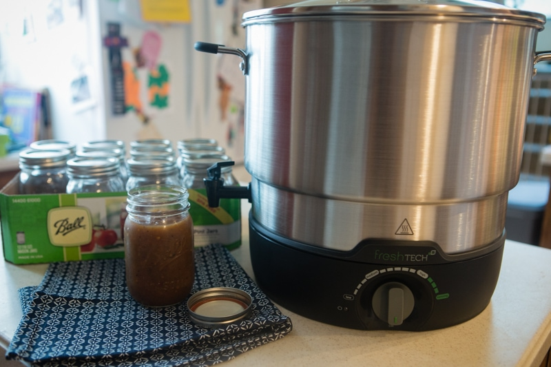 freshTECH electric water bath canner and multi cooker