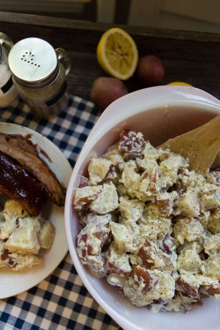Lemon-Horseradish Potato Salad