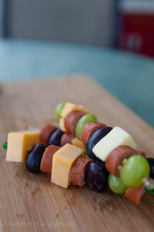 hot dog kabobs for kids lunches