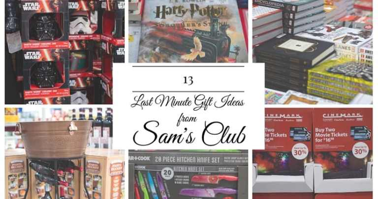 13 Last Minute Gift Ideas from Sam's Club