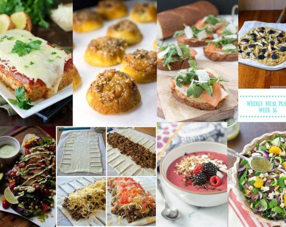 Weekly Meal Plan {Week 36}