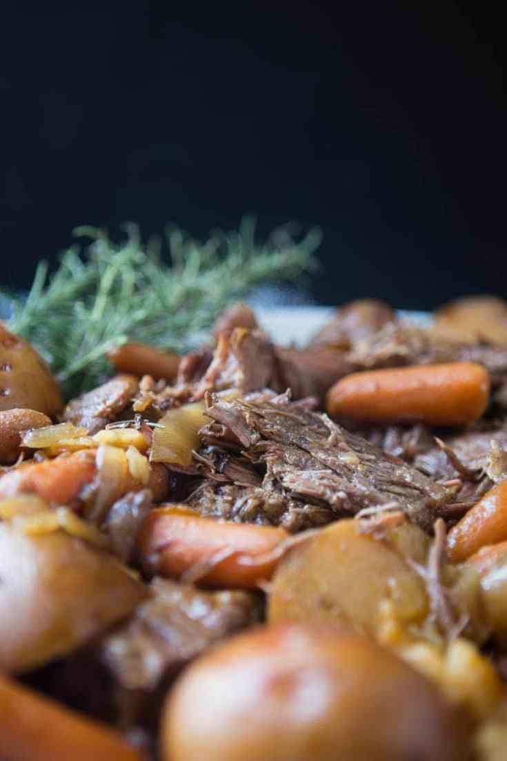 Simple and Delicious Slow Cooker Pot Roast