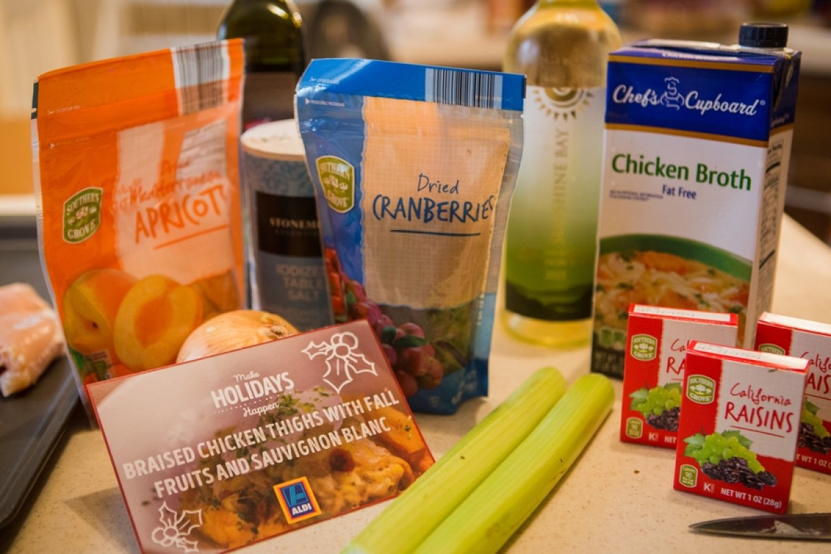 braised chicken thighs ingredients
