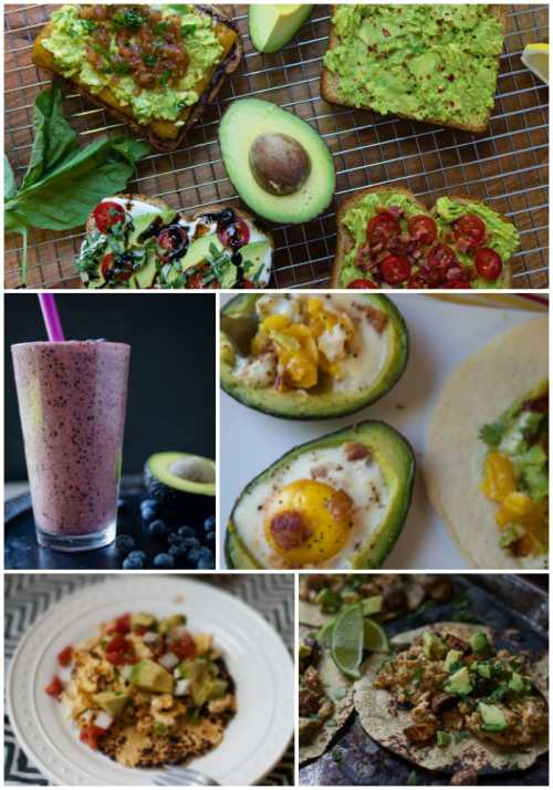 breakfast recipes with avocados