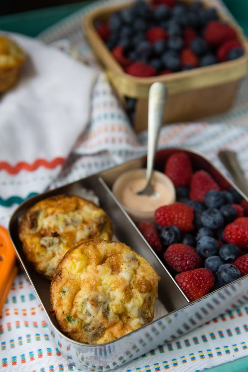 sausage and cheese hashbrown cups
