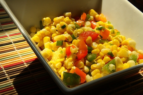 Chilled Confetti Corn Salad