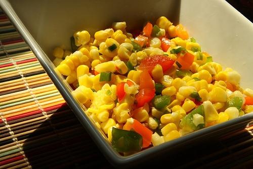 Chilled Confetti Corn Salad