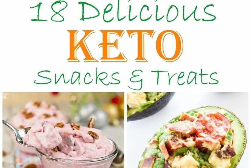 18 easy and delicious keto snacks