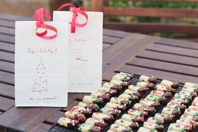 mini holiday biscotti #bakecraftsew