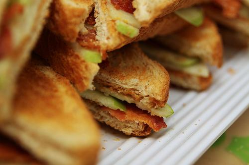 close up sandwiches
