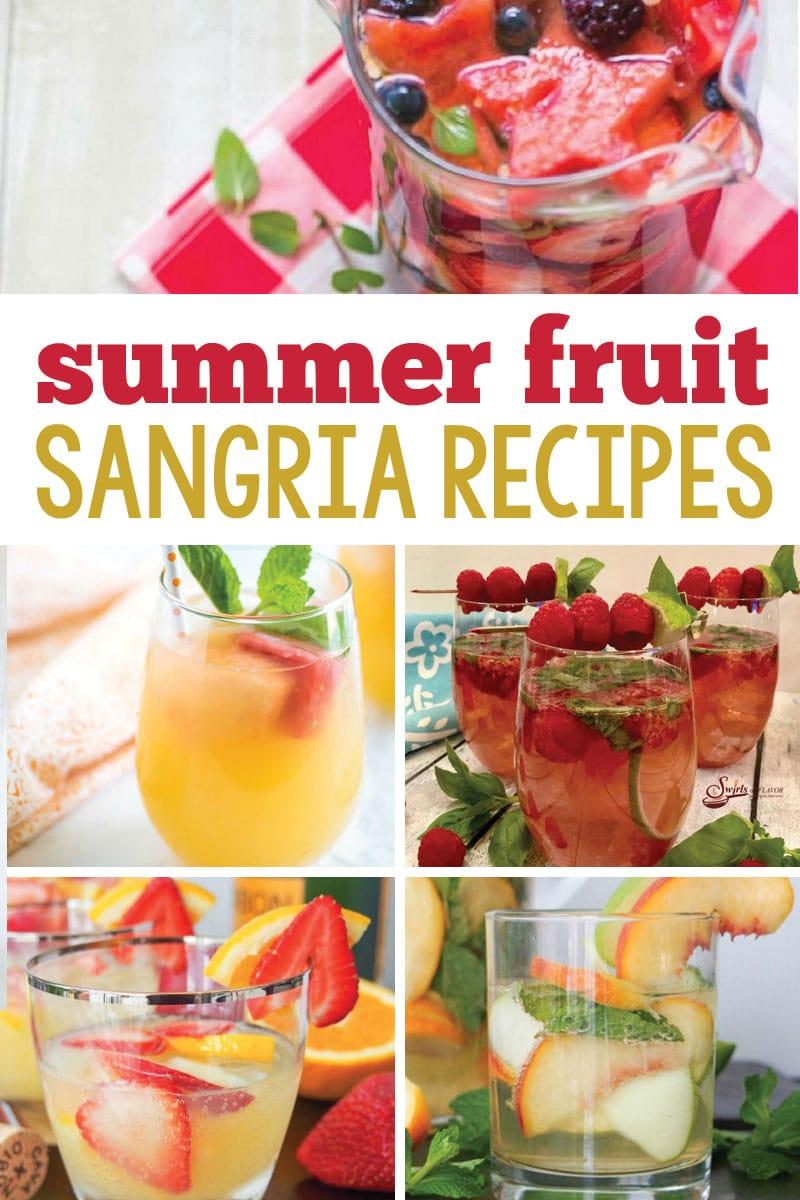 summer fruit sangria recipes