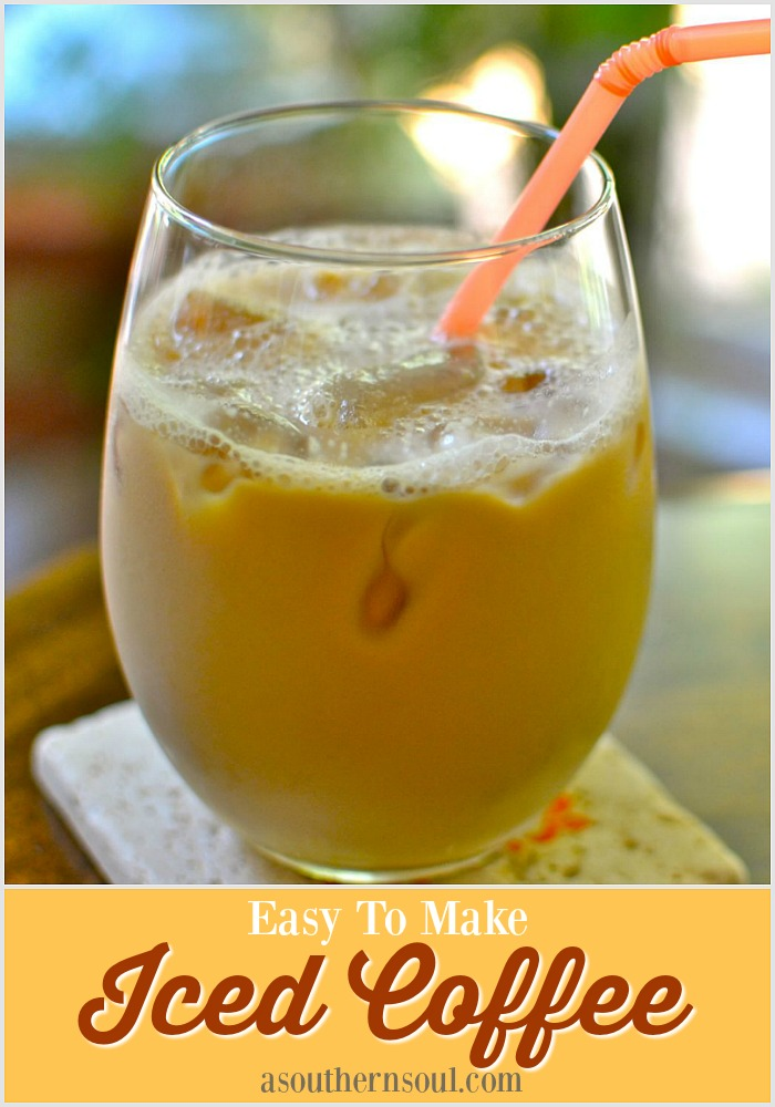 Easy to Make Iced Coffee