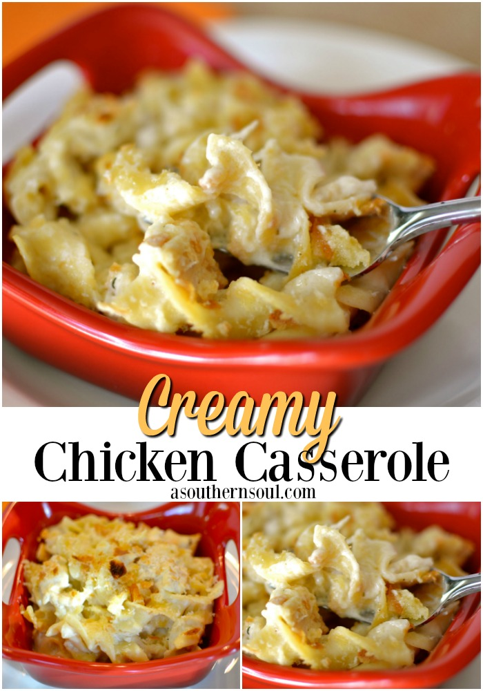Cream Chicken Casserole PIN
