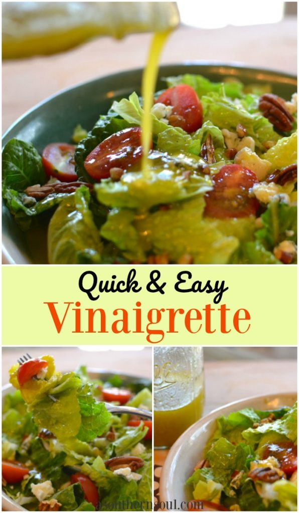 quick and easy vinaigrette