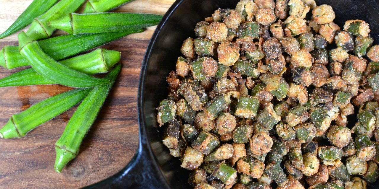 Fried Okra with Sea Salt