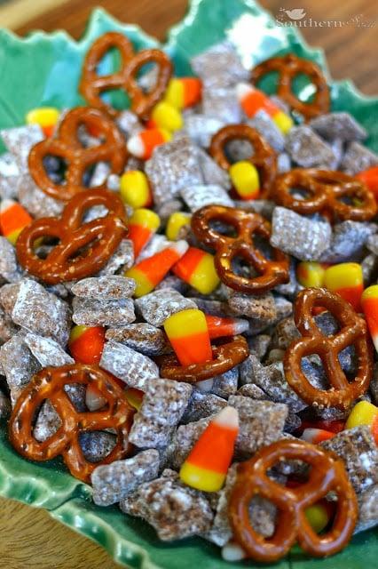 A Southern Soul | Candy Corn Snack Mix
