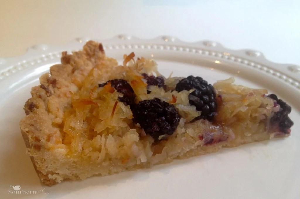 A Southern Soul | Slice of Blackberry Tart