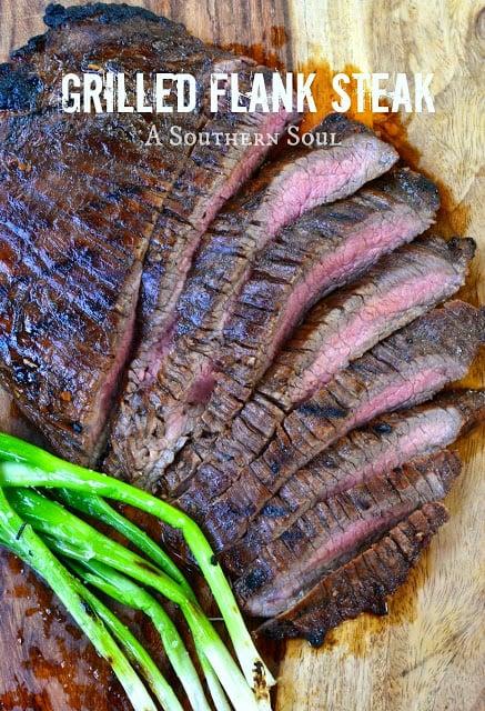 A Southern Soul Flank Steak