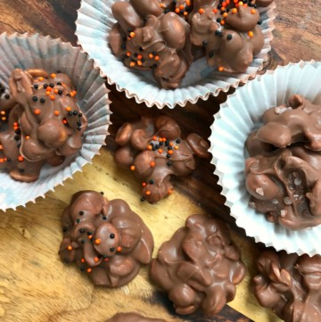 crock pot peanut chocolate candy