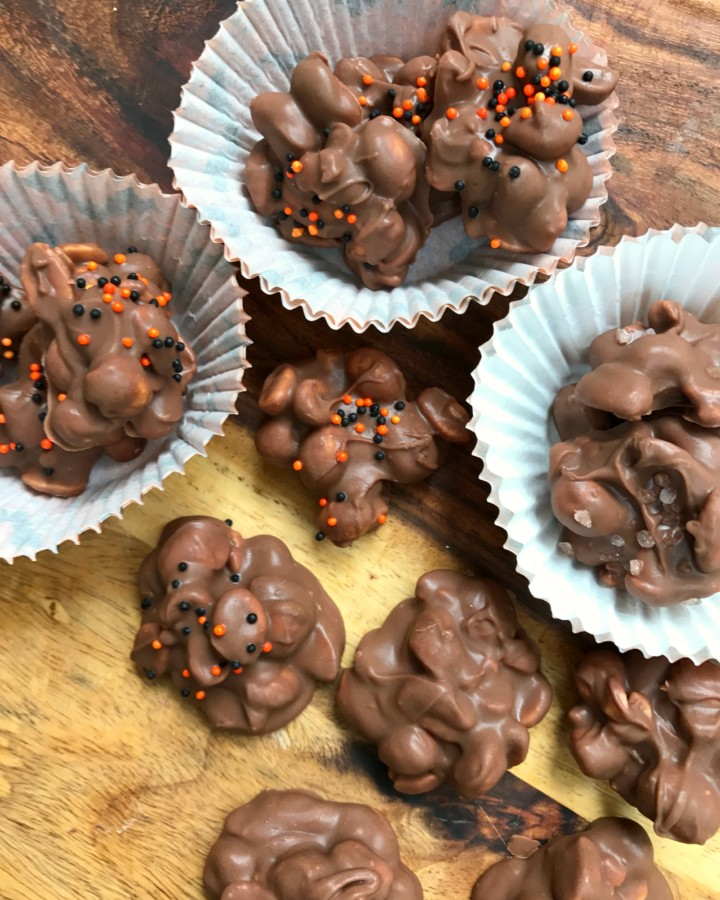 crock pot peanut chocolate candy