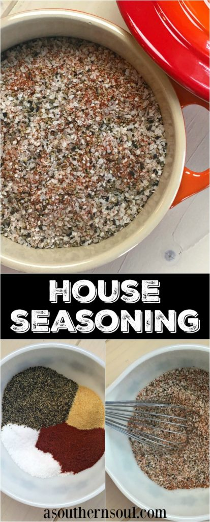 house seasoning from A Southern Soul