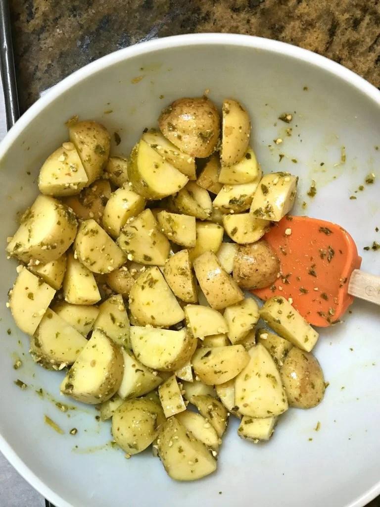 A Southern Soul Potato Salad