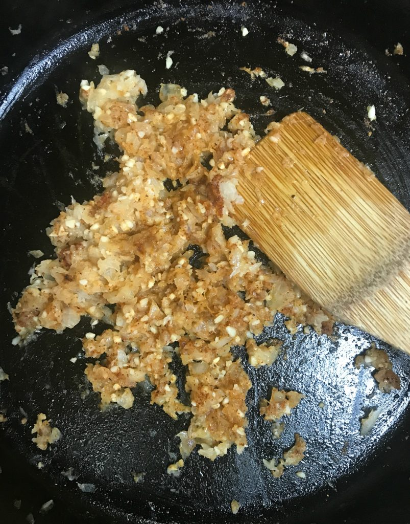 peachy BBQ sauce onions