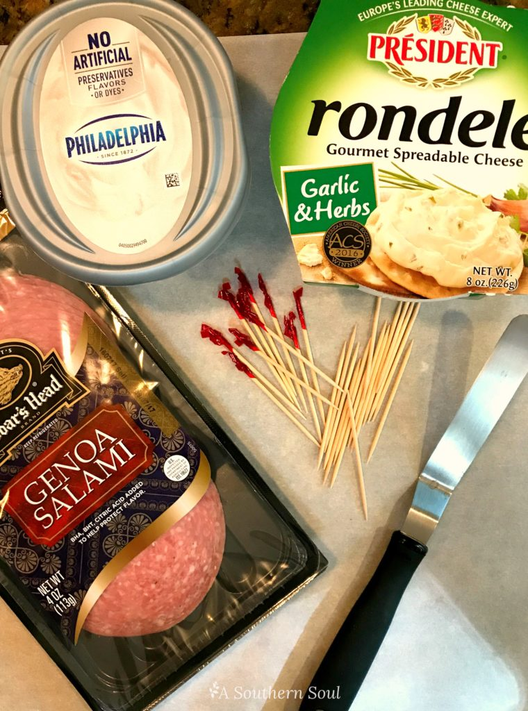 salami & cheese ingredients