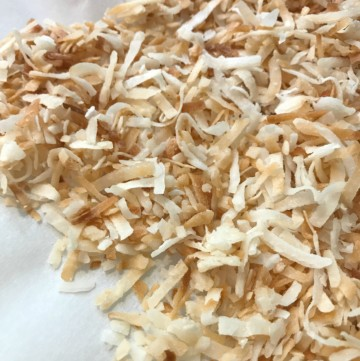 toasted coconut hot to's
