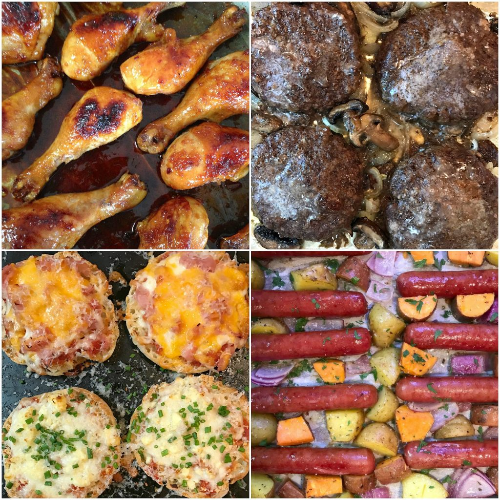 sheet pan meals with a southern soul