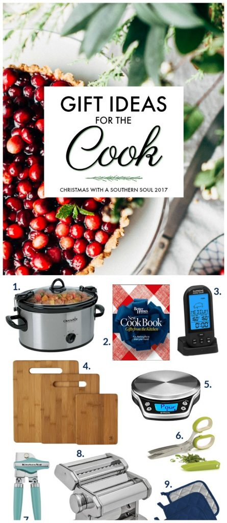 what to buy the cook for Christmas 2017
