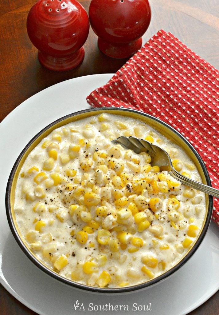 slow cooker creamed corn