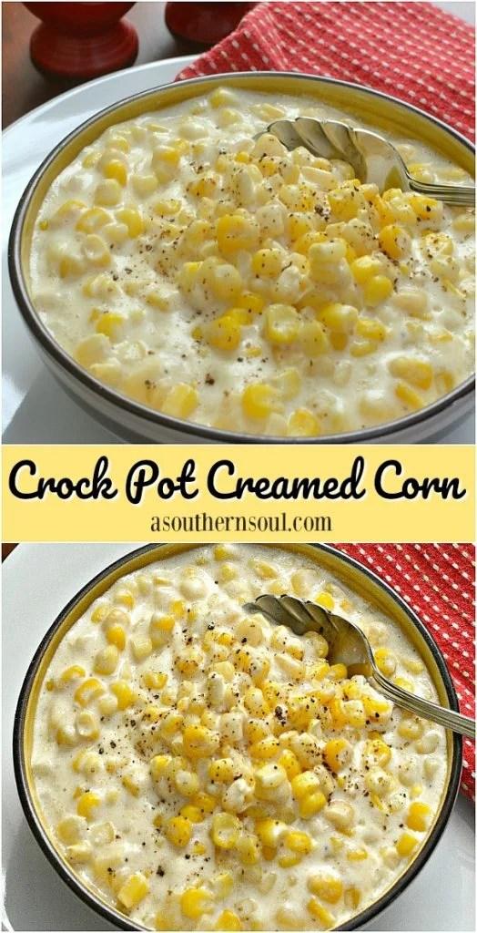 crock pot creamed corn a family favorite