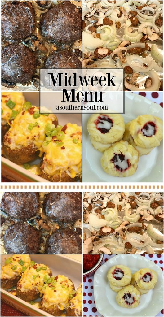 midweek menu to pin