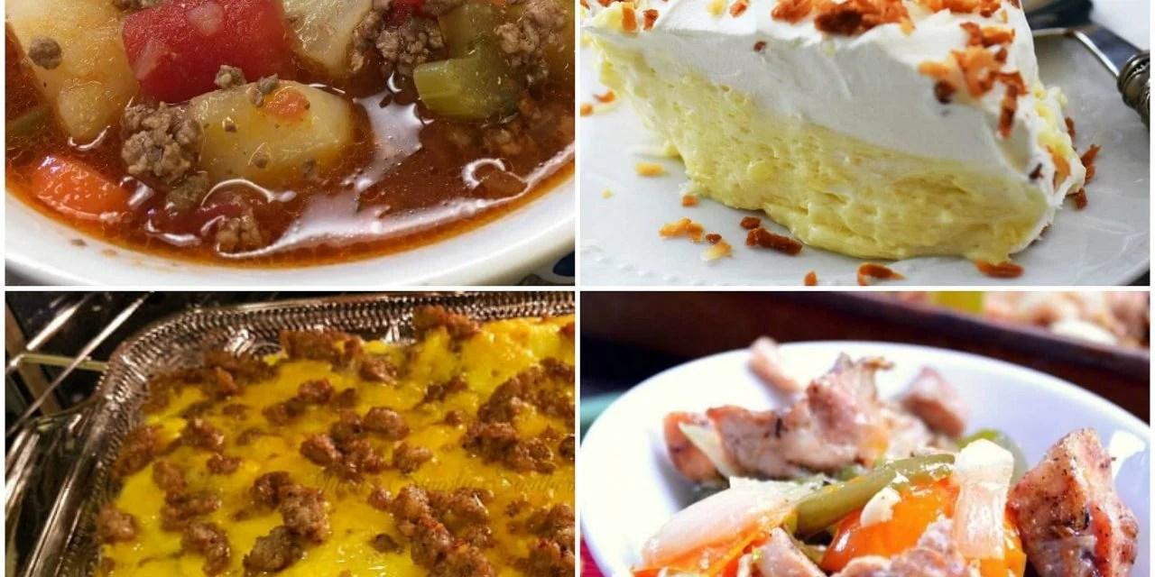 Meal Plan Monday #96 ~ Hamburger & Veggie Soup