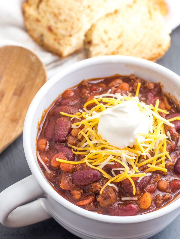 20 out of this world chili recipes, beef and beans