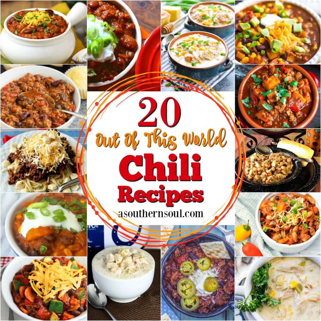 20 out of this world chili recipe roundup, beef, chicken, turkey, beans recipe
