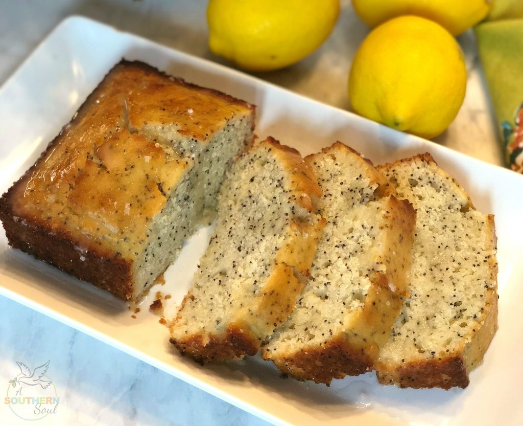 lemon poppy seed cake, desserts, sweets, lemon, cake