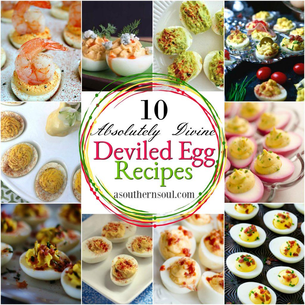 deviled egg round-up