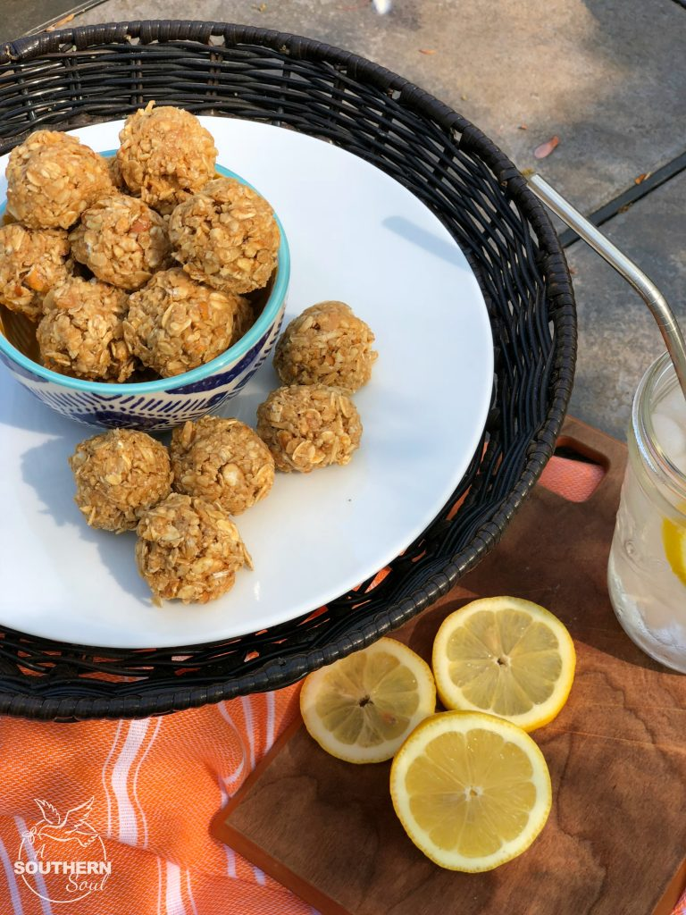 no-bake sweet and salty oatmeal energy bites