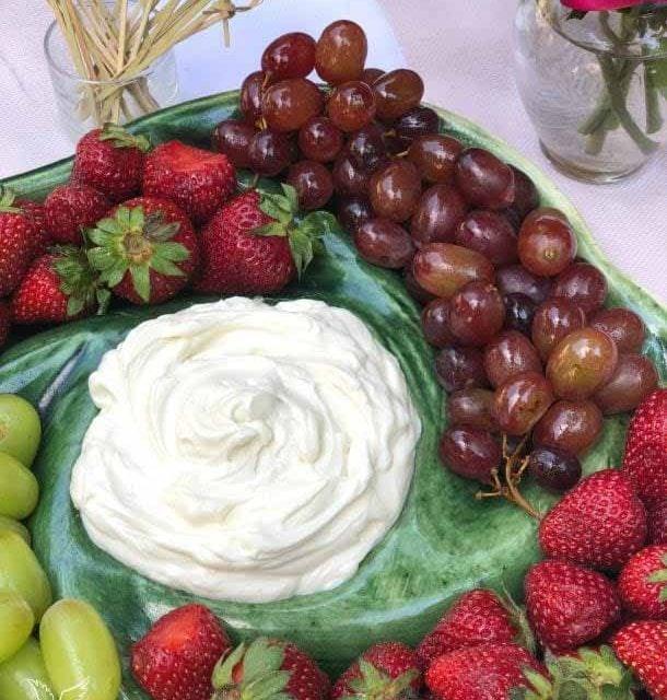 Three Ingredient Fruit Dip