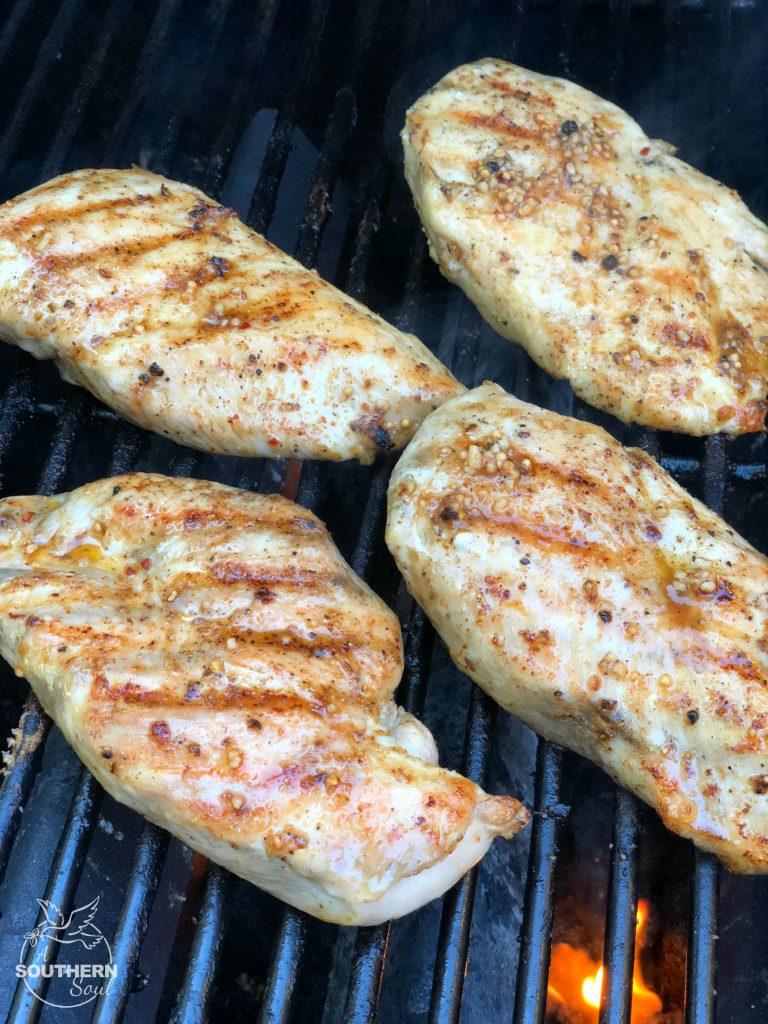 grilled lemon pepper chicken recipe