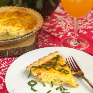 ham and cheese quiche recipe