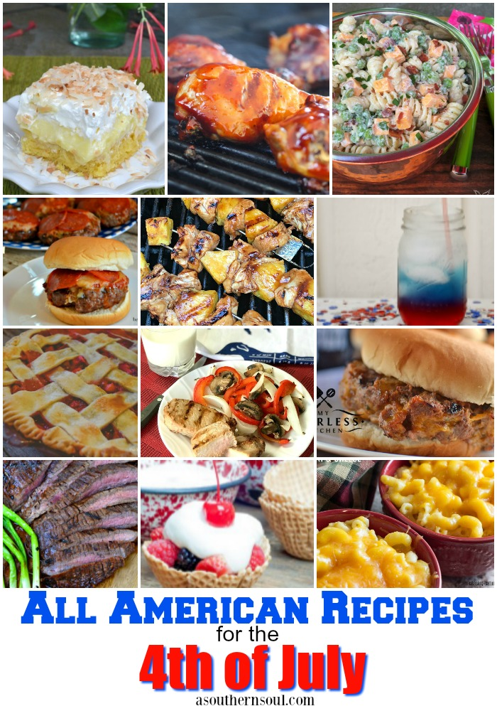 All American Recipes for the 4th of July