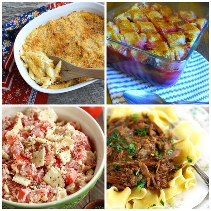 Meal Plan Monday #120 recipe link-up from A southern Soul