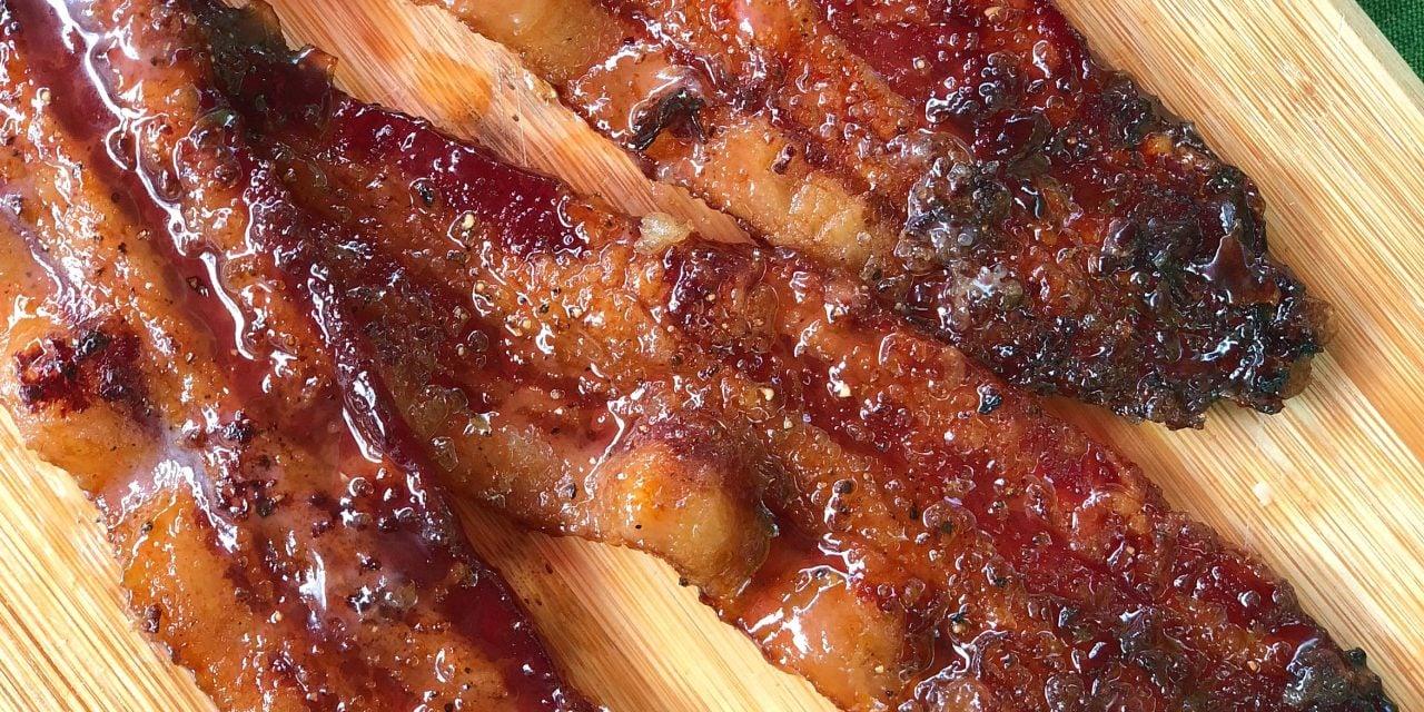 Brown Sugar Pepper Bacon