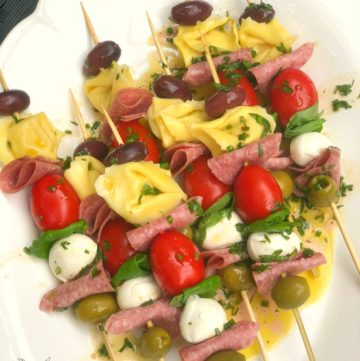 Antipasto Skewers from A Southern Soul