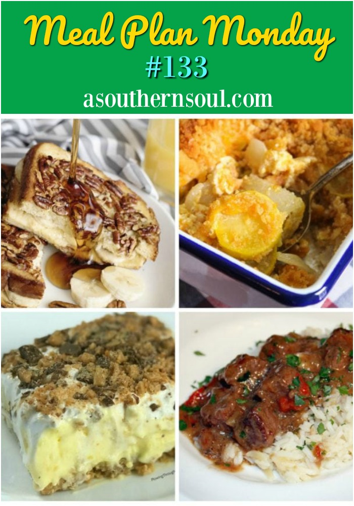 Meal Plan Monday link up recipe party